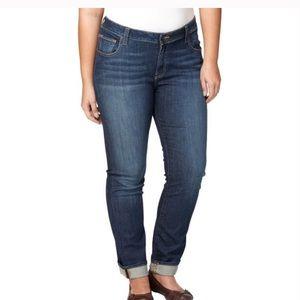 Lucky brand ginger straight leg jeans size 22